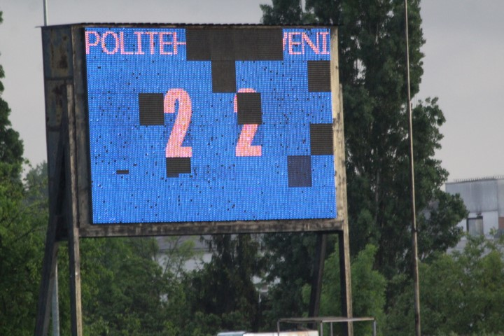 Zi cu soare nu a fost până la capăt: Politehnica – CS Mioveni 2-2