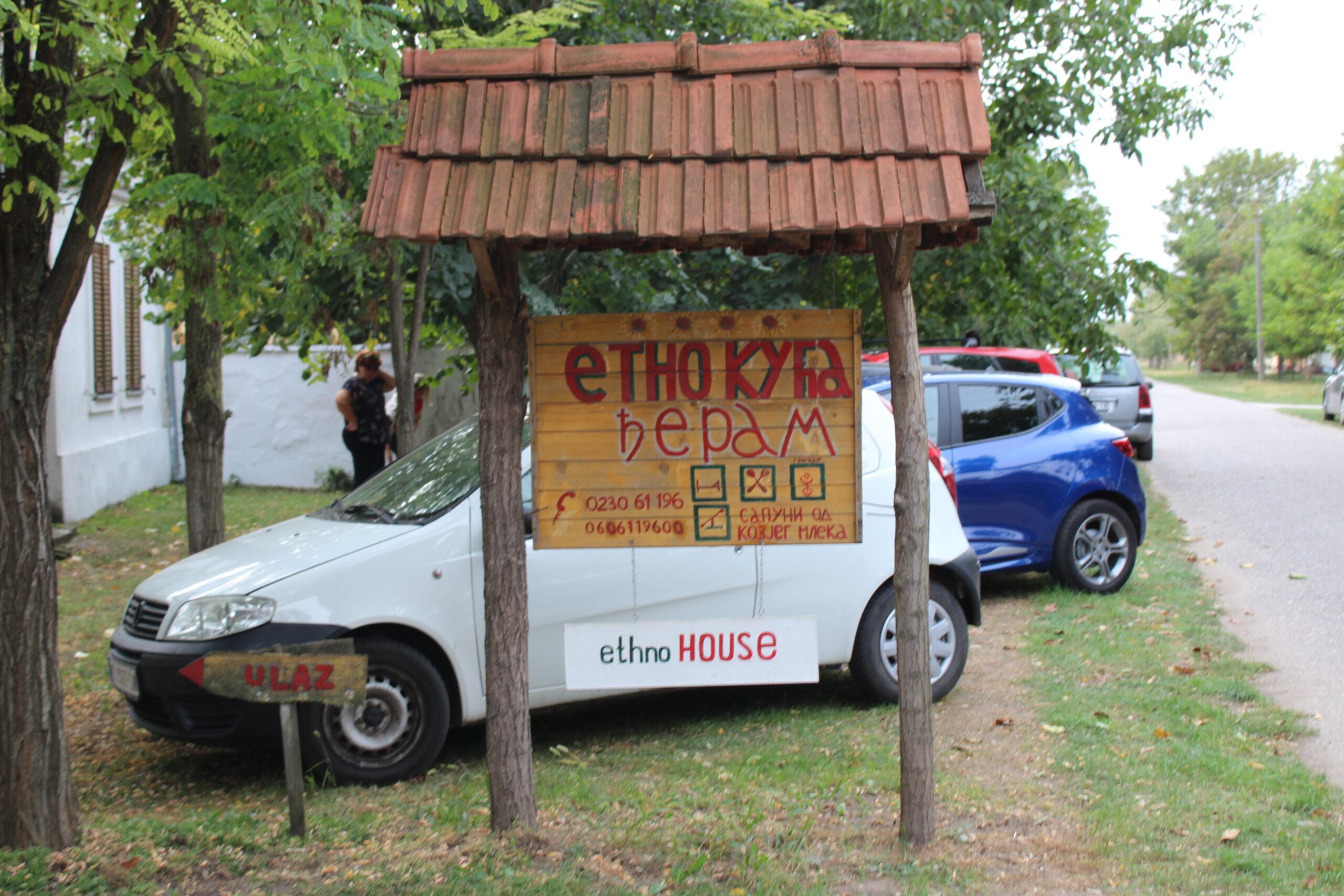 Delegatie din Timisoara in vizita la o pensiune etno in Mokrin, langa Kikinda
