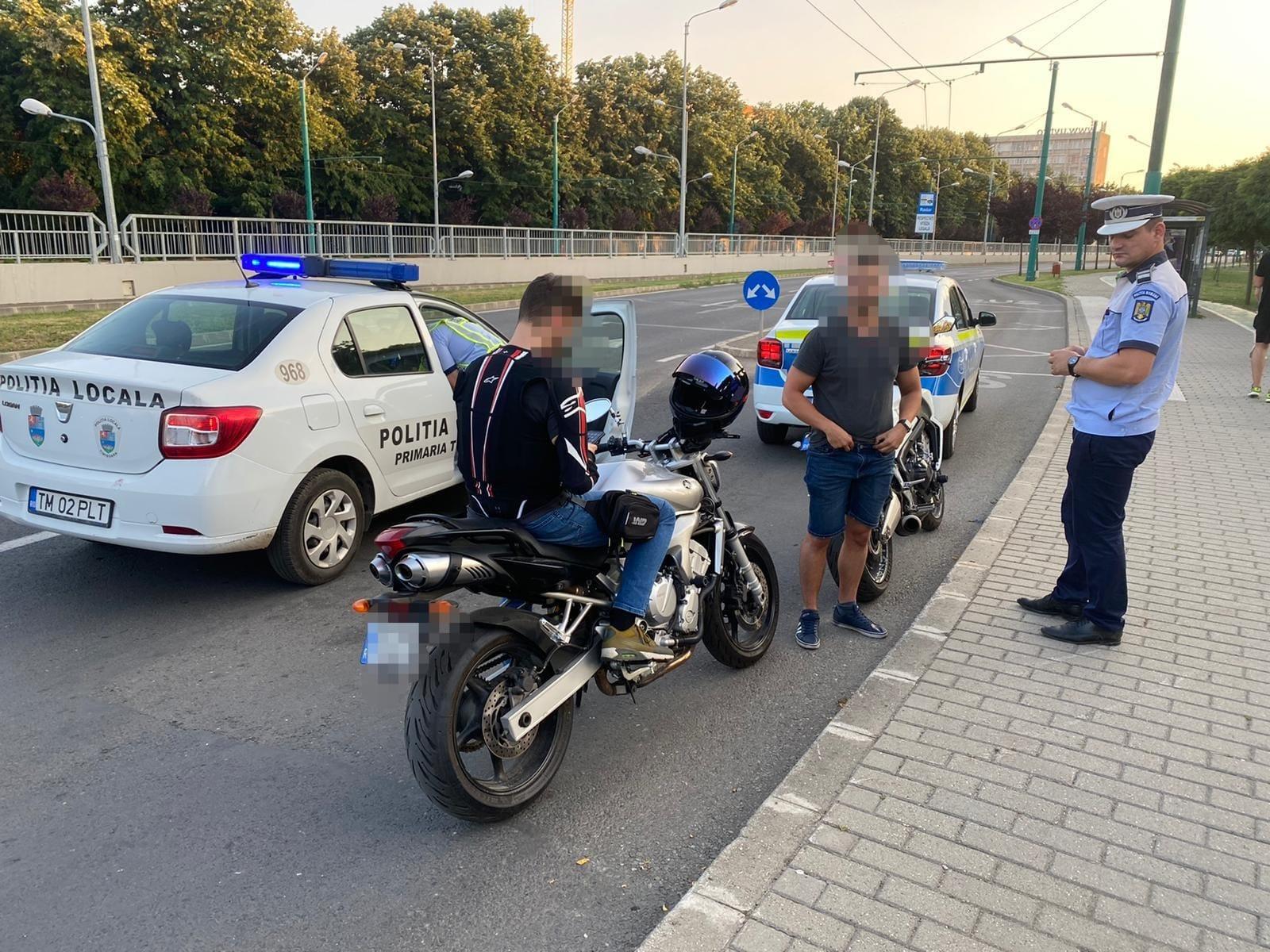 Acțiune rutieră în rândul motocicliștilor