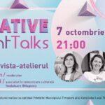 Creative Night Talks în octombrie – despre PR cultural, makerspace, artă contemporană și interdisciplinară